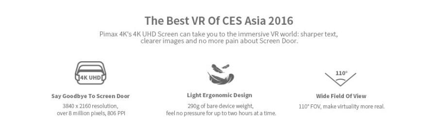 4K, UHD, 3D VR GLASSES, HIGH DEFINITION, BEST VR HEADSET