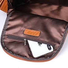 interior zipper pocket