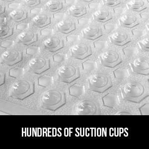hundreds of suction cups