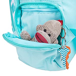 Aqua Circle Link Reinforced and Water Resistant Padded Laptop School Backpack