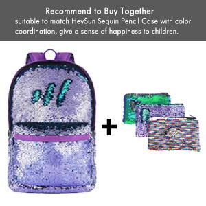 Flip Sequin Schoolbag