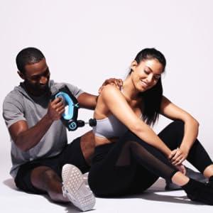 Massagem percussiva profissional TheraGun G2PRO para alívio da dor, dor muscular e recuperação da dor