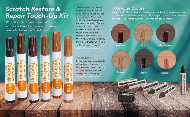 Furniture Repair Kit Wood Markers - Set Of 13