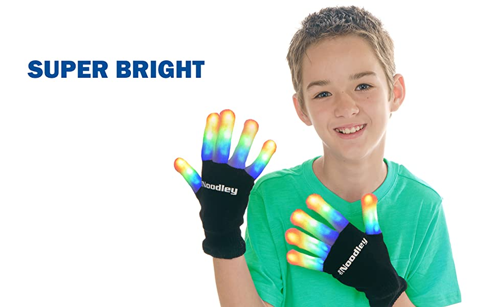 BRIGHT LIGHTS FINGER LIGHTS KID TOYS FOR BOYS 4-8 TODDLER GIRLS XMAS HOLIDAY EASTER BASKET GIFT