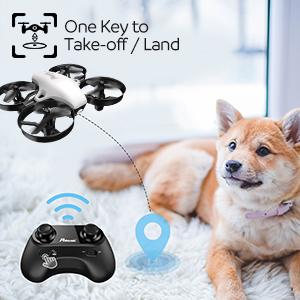 One Key to Take-off / Land
