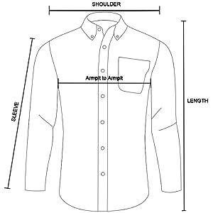 shirts size chart