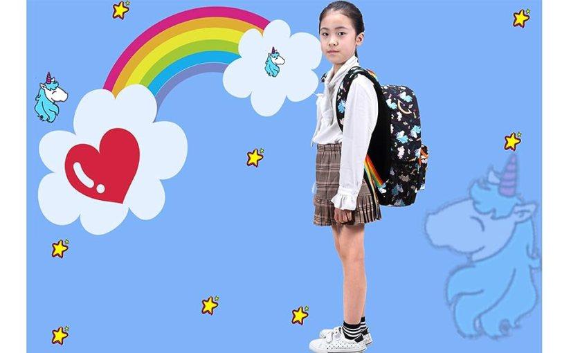 Happy Childhood with Kemy's School Bookbag