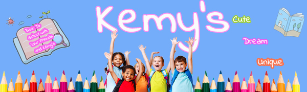 Back To School  with Yours Friends and Kemy's Rainbow Backpacks