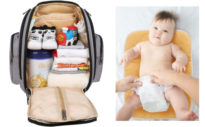 Large Main Compartment & Changing Pad
