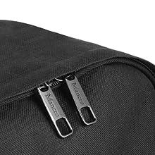 durable metal zippers double