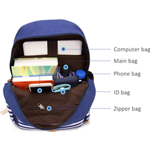 large capacity bookbag
