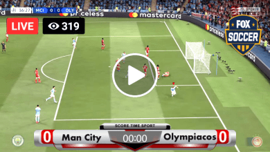 Photo of Manchester City vs Olympiacos Live Football Score 25-11-2020