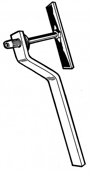 1953-79 Ford F-100 Nutsert Install Tool, 1/4