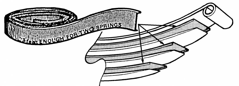 1948-56 Ford F-100 Spring Poly Liner, Front