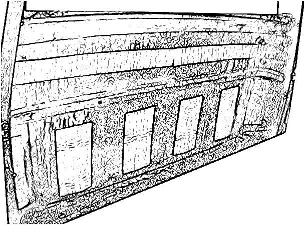 1953-55 Ford F-100 Precut Insulation, Rear Wall