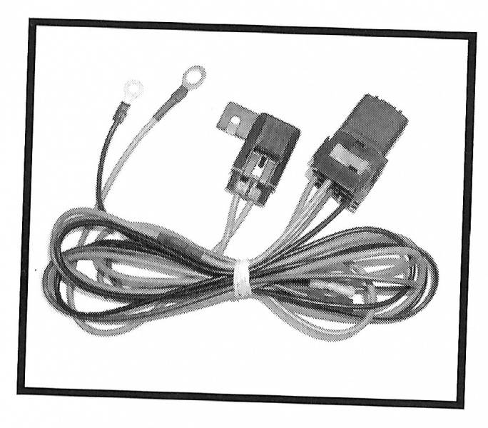 1948-79 Ford F-100 Fan For Condenser Wiring Harness Kit