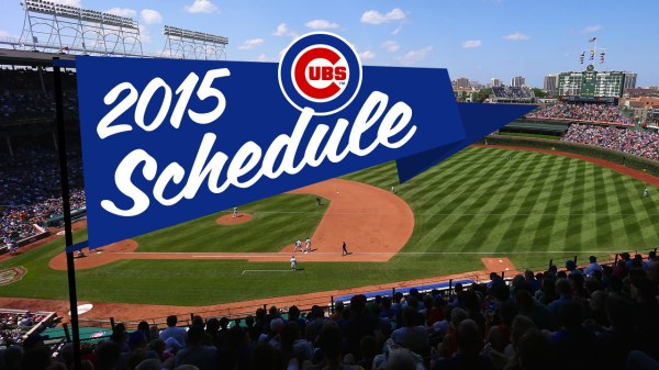 2015 Chicago Cubs IGT Signup and MLB Season Schedule