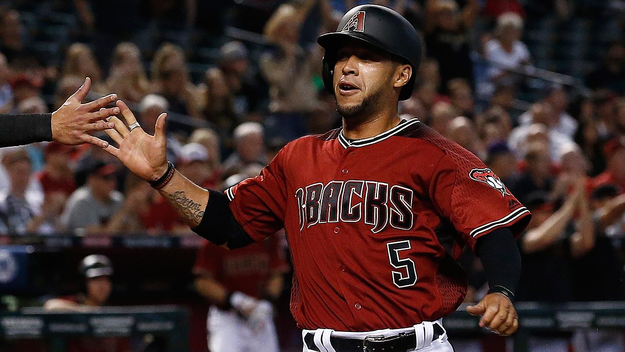 D Backs' Gregor Blanco Exits With Thumb Injury MLB Com