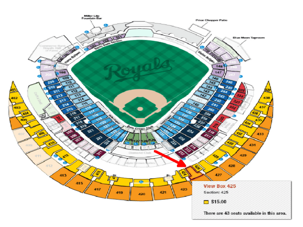 Kansas City Royals Seating Chart 2017   Brokeasshome.com