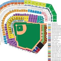 T Ball Field Diagram Printable Nissan Primera P12 Radio Wiring Att Park Seating Chart At San Francisco Ca