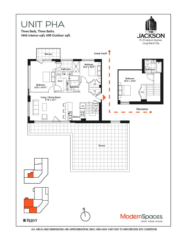 13 33 Jackson Avenue Pha At The Jackson Is A 3 Bedroom