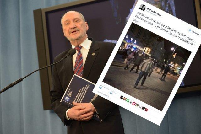 Antoni Macierewicz stał się obiektem ataków? Tak pokazuje to Twitter.