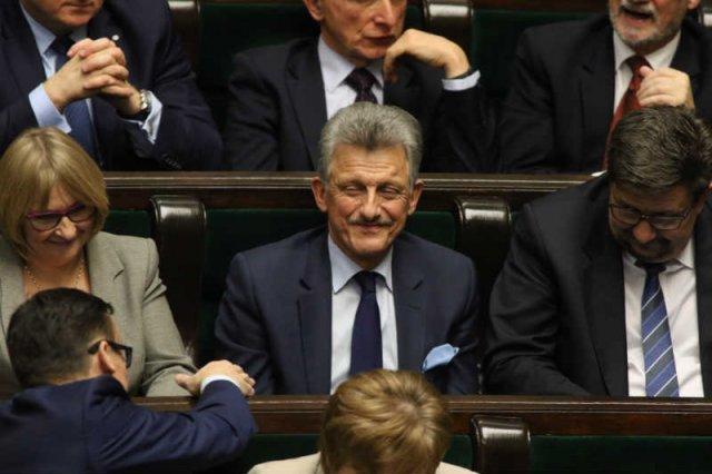 Stanisław Piotrowicz, który w imieniu PiS uzasadniał uchwałę o unieważnieniu wyboru sędziów Trybunału Konstytucyjnego, w czasach PRL był prokuratorem.