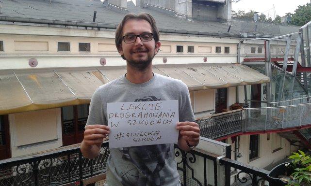 Błażej Lenkowski przeznaczyły pieniądze zaoszczędzone na katechezie na lekcje programowania w szkołach.