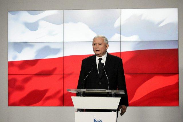 """Kaczyński o podejściu do opozycji po wygranych wyborach: """"Nie będzie polityki wojny z opozycji, my opozycję szanujemy"""""""