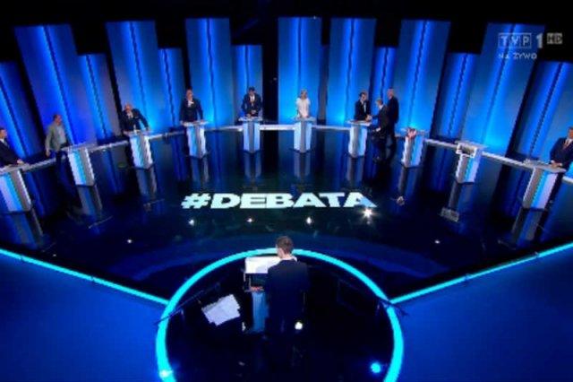 Debata dziesięciu kandydatów nie była debatą, ale wygłaszaniem kolejnych fragmentów programu.