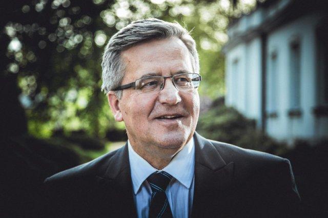 Bronisław Komorowski odpowiadał na pytania dziennikarzy w Debacie. Nie zgodził się na wspólną debatę wszystkich kandydatów.