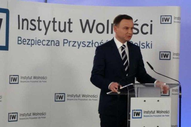 Andrzej Duda przedstawił swój pomysł na politykęzagraniczną.