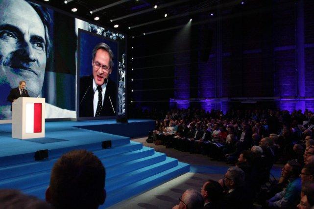 Jerzy Zelnik podczas Konwencji kandydata Prawa i Sprawiedliwości na prezydenta RP
