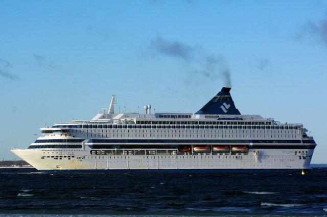 Ten prom kiedyś pływał po Bałtyku. Teraz używany jest jako statek hotelowy dla pracowników