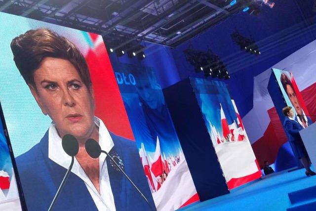 Beata Szydło przedstawiła program wyborczy PiS
