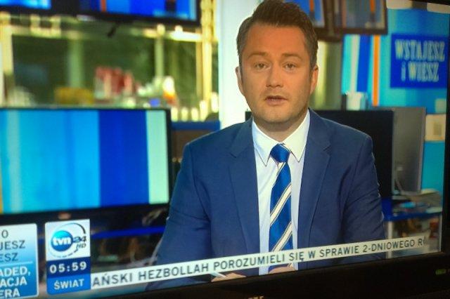 Jarosław Kuźniar odchodzi z TVN24
