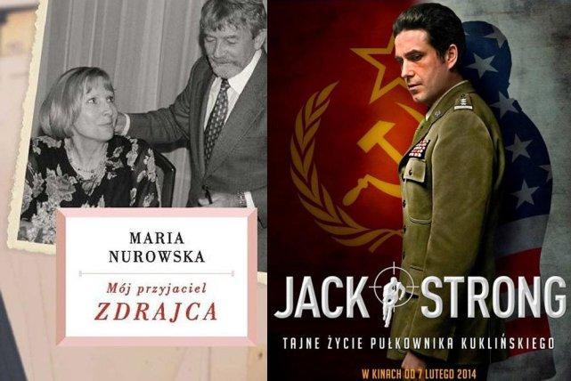 """Okładka książki Marii Nurowskiej """"Mój przyjaciel zdrajca"""""""
