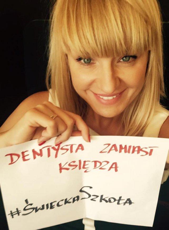 Beata Kurek proponuje finansować szkolnych dentystów zamiast lekcji religii.