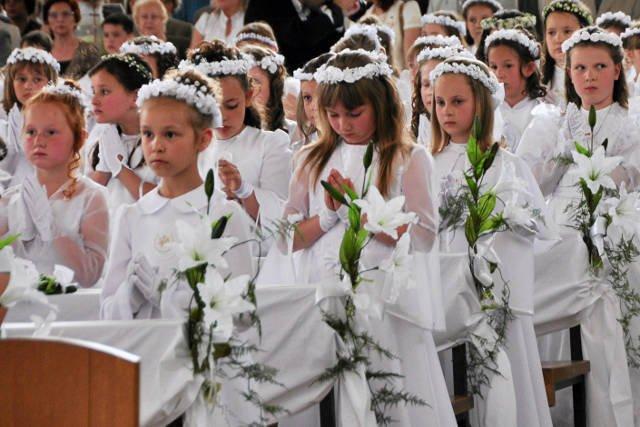 Dzieci z Poronina zapamiętają swoją Pierwszą Komunię Świętą na długo...