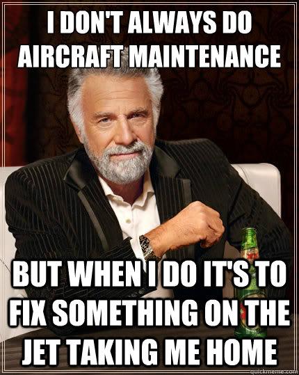 Aircraft Maintenance Meme : aircraft, maintenance, Airplane, Mechanic, Memes, 10lilian