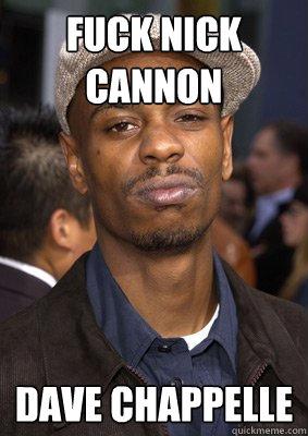 Nick Cannon Meme : cannon, Cannon, Chappelle, Angry, Quickmeme