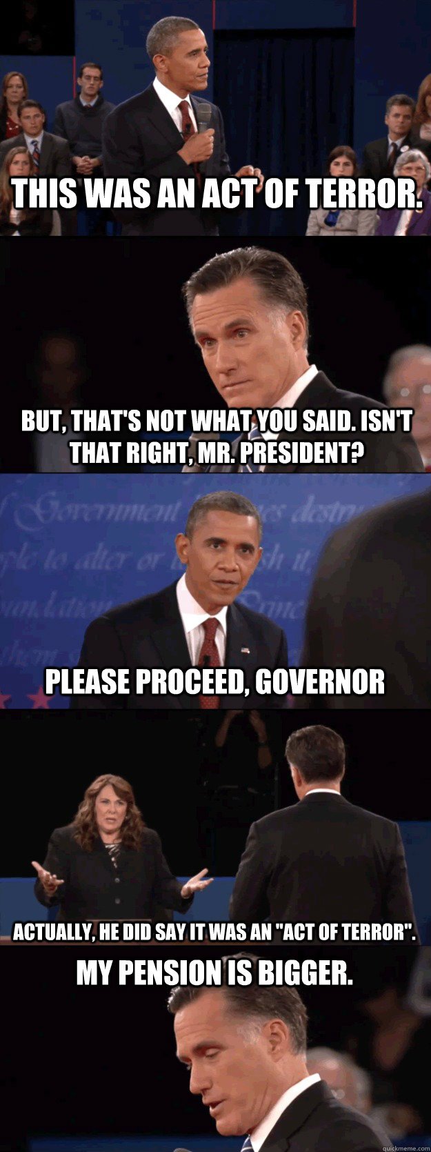 Jon Stewart on How Obama Allowed Romney to Proceed into a Wall