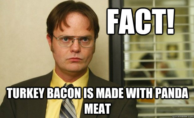 Image result for turkey bacon memes