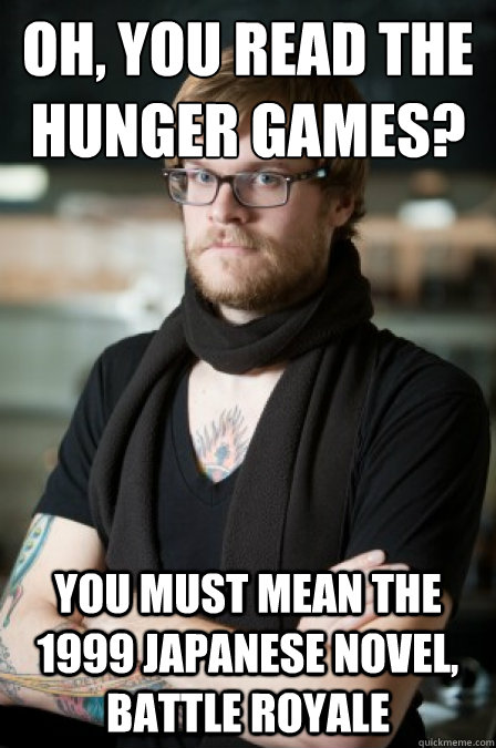 Image result for battle royale hunger games