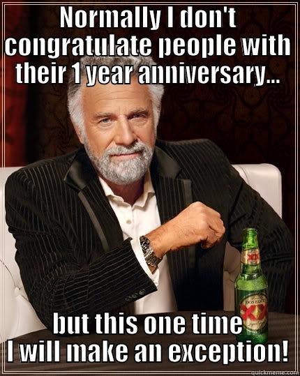 One Year Anniversary Memes : anniversary, memes, Anniversary, Quickmeme