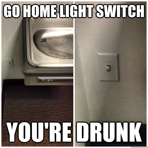 go home light switch
