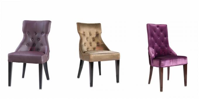 standard banquet chairs oak arrowback dining wing back button decoration hotel lobby leather seats