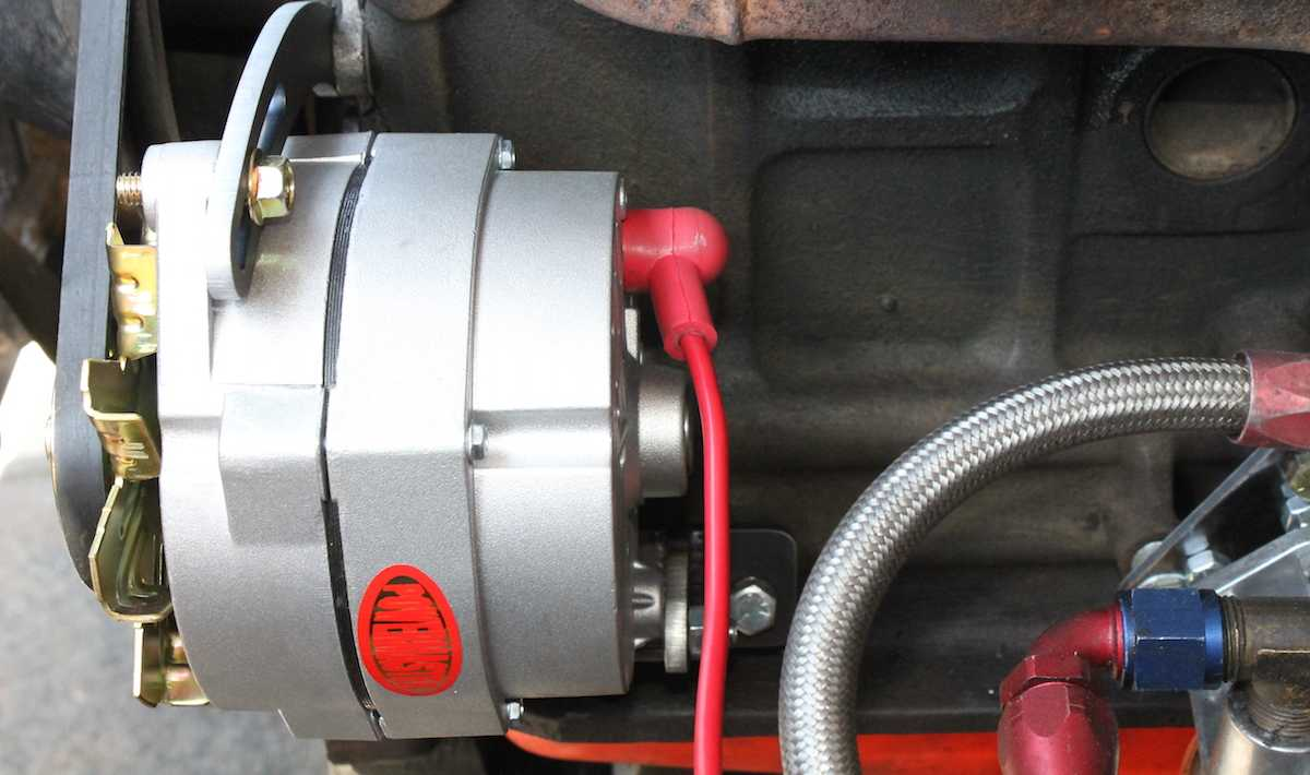 hight resolution of any time you upgrade your alternator you should strongly consider upgrading the gauge size of the wire that charges that battery as well as the fusible