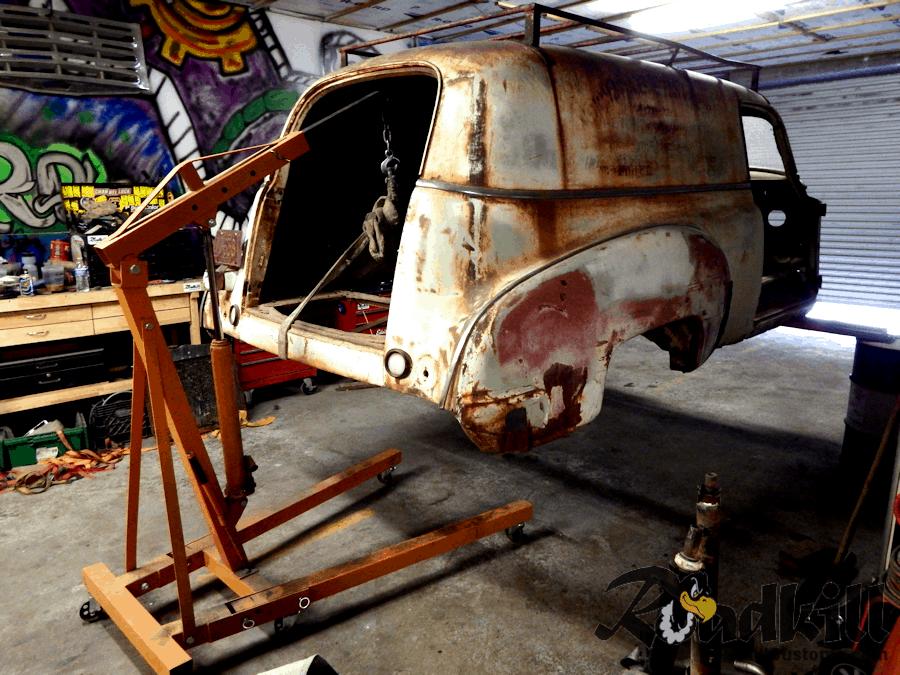 1954 F100 Wiring Harness Diy Studebaker Frame Swap Framebob Org