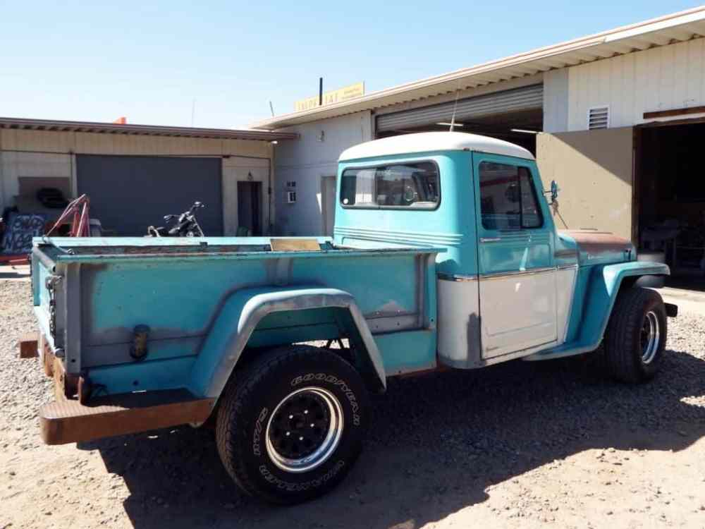 medium resolution of 1946 1964 willys jeep pickup truck bed